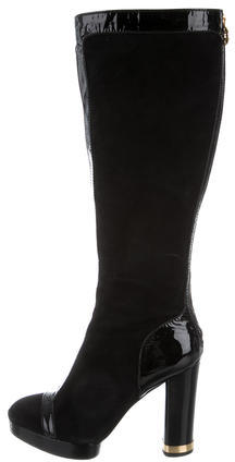 Tory Burch Tory Burch Knee-High Suede Boots