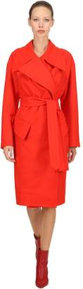 Vivienne Westwood Belted Wool Cloth Coat