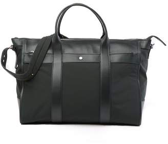 Theory EW Signature Leather & Nylon Tote