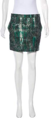 Stella McCartney Jacquard Mini Skirt