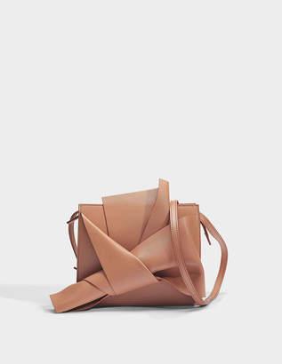 N°21 N21 Bow Shoulder Bag in Bois de Rose Calfskin
