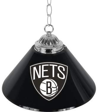 Pool' Trademark Global NBA Single Bar Lamp NBA Team: Brooklyn Nets