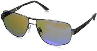 Hang Ten Gold HT Classic HTG1024 C2 Polarized Rectangular Sunglasses