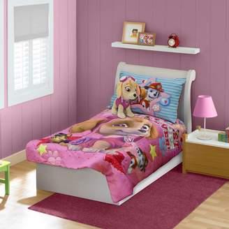Nickelodeon Kohl's Paw Patrol Skye, Everest, Chase & Marshall 4-pc. Toddler Bedding Set
