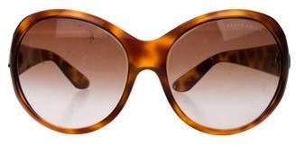 Ralph Lauren Round Gradient Sunglasses