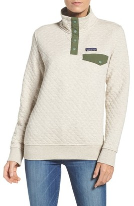 Women's Patagonia Quilted Pullover $149 thestylecure.com