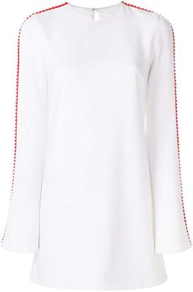 at Farfetch Galvan side stripe short dress
