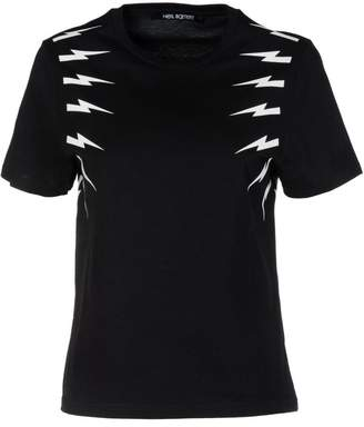 Neil Barrett Lightning Bolt Printed T-shirt