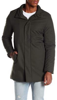 Knowledge Cotton Apparel Long Soft Shell Bounded Jacket