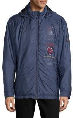 Paul & Shark Long-Sleeve Hooded Jacket