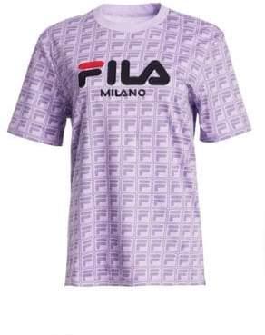 Fila Runway Milano Cotton Logo Tee