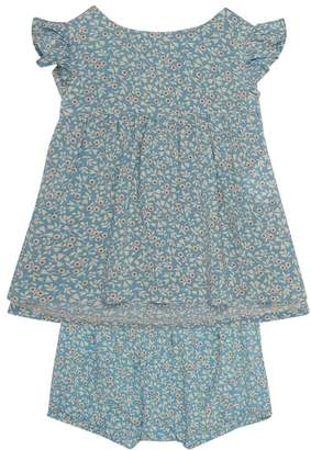 Polo Ralph Lauren Floral Smock Top and Bloomers