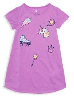 Petit Lem Little Girl's Unicorn Swag Nightgown