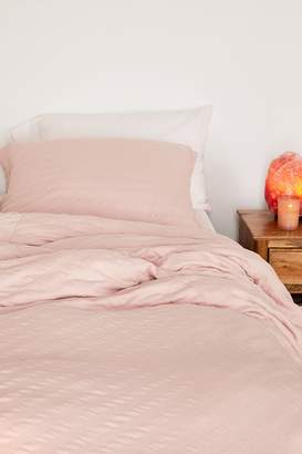 Urban Outfitters Puckered Jersey Duvet Cover