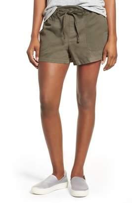 Kenneth Cole New York Drawstring Cotton Shorts