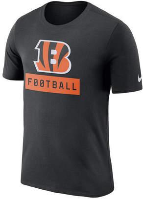 Nike Men's Cincinnati Bengals Legend Football Equipment T-Shirt