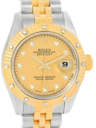 Rolex Datejust 179313 Stainless Steel and 18K Yellow Gold 26mm Womens Watch