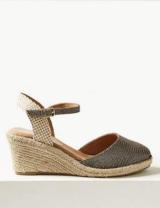 Marks and Spencer Wide Fit Wedge Heel Espadrilles