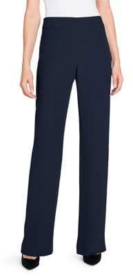 Giorgio Armani Silk High-Waisted Long Pants