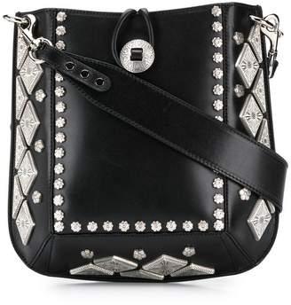 Isabel Marant floral studded satchel bag