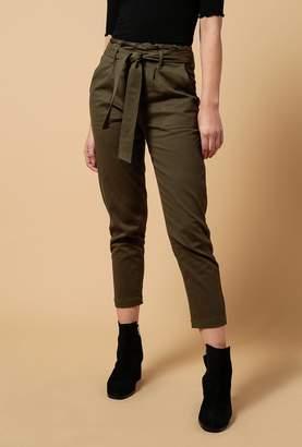 Azalea Cindy Tie Waist Straight Pants