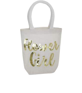 Mud Pie Flower Girl Tote