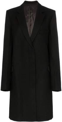 Helmut Lang essential crombie wool coat