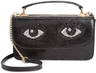Betsey Johnson Eyes Crossbody Bag