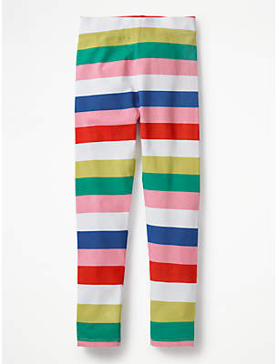 Boden Mini Girls' Fun Stripe Leggings, Multi