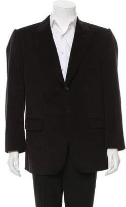 Isaia Corduroy Two-Button Blazer