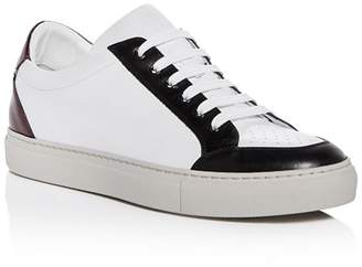 Paul Smith Men's Color-Block Leather Lace Up Sneakers