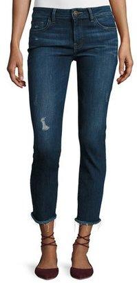 DL1961 Premium Denim Mara Instasculpt Ankle Straight-Leg Jeans, Ravine $198 thestylecure.com