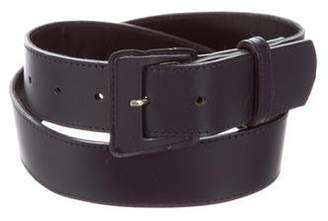 Courreges Leather Waist Belt
