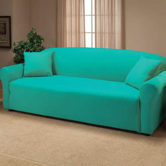Andover Mills Floral Box Cushion Sofa Slipcover