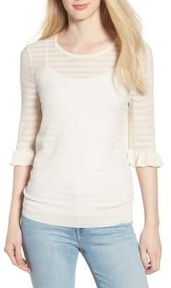 Hinge Pointelle Sweater