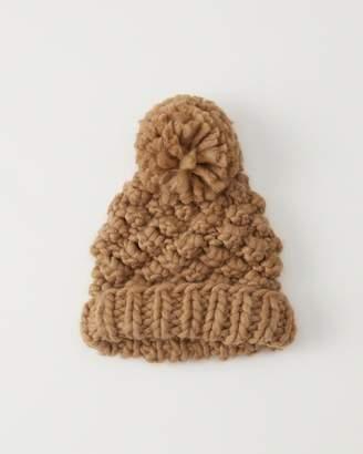 Abercrombie & Fitch Chunky Knit Pom Beanie