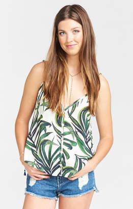 Show Me Your Mumu Cammys Cami ~ Peruvian Palm Breeze