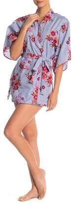 Josie Floral Short Robe