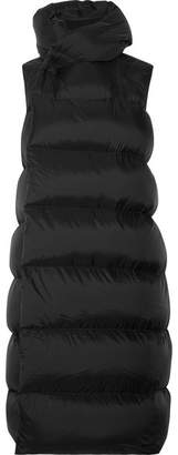 Rick Owens - Quilted Shell Down Vest - Black $1,510 thestylecure.com