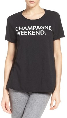 Women's Chaser Champagne Weekend Lounge Tee $59 thestylecure.com