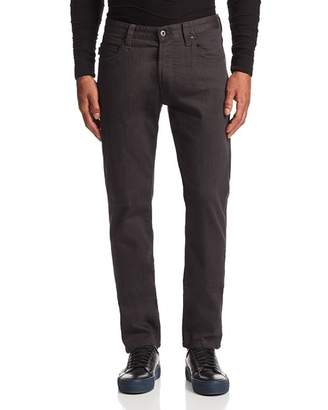 Emporio Armani Straight Fit Jeans in Gray