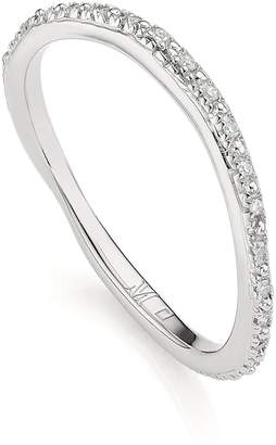 Monica Vinader Riva Wave Diamond Eternity Ring