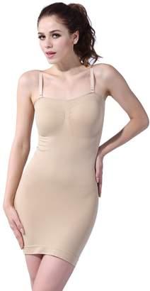 f037c09037 Franato Women s Shapewear Strapless Full Control Slip Bodyshaper Dress S