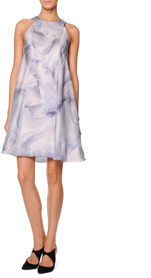 Giorgio Armani Printed Paneled Swing Dress