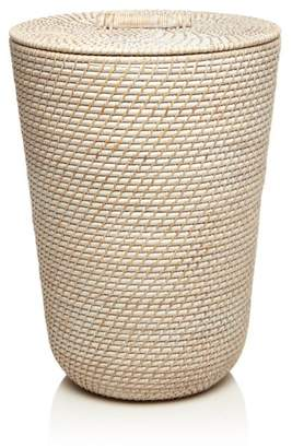 Laundry by Shelli Segal Britannica Ernie White-Washed Rattan Laundry Hamper - 100% Exclusive