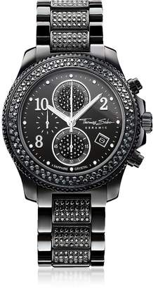 Thomas Sabo Glam Ceramic Women's Chronograph Watch w/Crystals