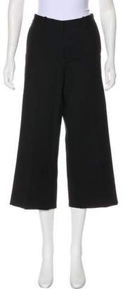 Theory Mid-Rise Wide-Leg Pants