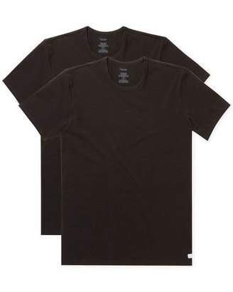 Calvin Klein Men's 2 Pack Cotton Stretch Crew Neck T-Shirt