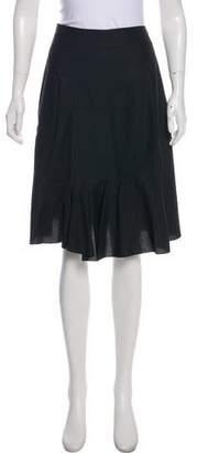 Marni Flared Knee-Length Skirt