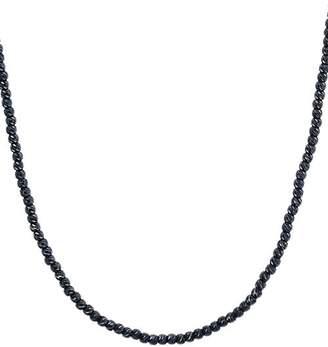 "Aqua Sterling Sparkle Necklace, 17"""